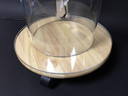 アクリルパイプ看板:和風仕様看板用台座