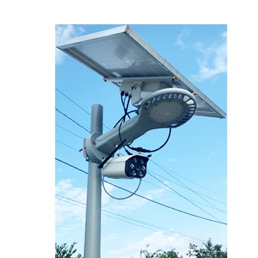 防犯カメラ付きソーラー照明SGN